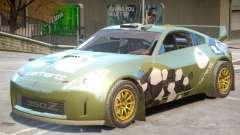 Nissan 350Z Drift V1 PJ4 para GTA 4
