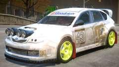 Subaru Impreza Drift V1 PJ6 para GTA 4