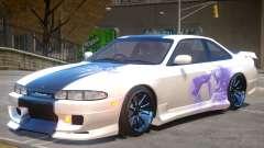 Nissan Silvia S14 V1 PJ3 para GTA 4