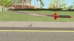 Red Katana para GTA San Andreas