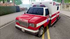 HD Decal for Ambulance para GTA San Andreas