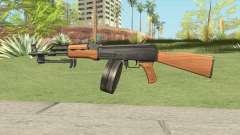 AK47 With Drum Magazine para GTA San Andreas