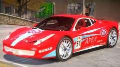 Ferrari 458 Challenge PJ2 para GTA 4