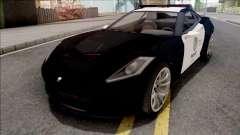 GTA 5 Invetero Coquette Police para GTA San Andreas