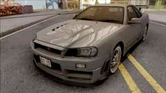Nissan Skyline GT-R R34 2000 Omori Factory S1 para GTA San Andreas