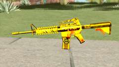 M4A1 Gold (French Armed Forces)