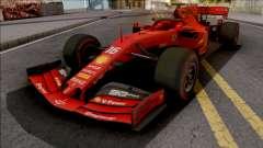 Ferrari SF90 F1 2019 Low Poly para GTA San Andreas