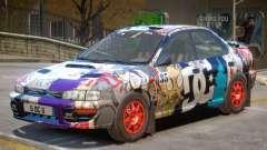 Subaru Impreza Rally Edition V1 PJ5 para GTA 4