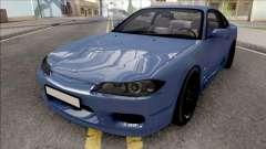Nissan Silvia S15 Stock Blue
