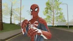 Spider-Man (PS4) Advanced Suit para GTA San Andreas