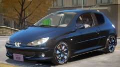 Peugeot 206 Tuning V1 para GTA 4