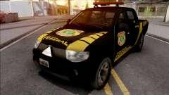 Mitsubishi L200 Triton 2010 Policia Federal