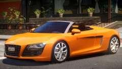 Audi R8 FSI Spyder para GTA 4