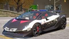 Lamborghini Sesto Police V1.1 para GTA 4
