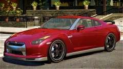 Nissan GTR R35 Upd para GTA 4