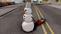 Snowman With Sled para GTA San Andreas