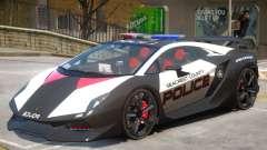 Lamborghini Sesto Police V1.2 para GTA 4