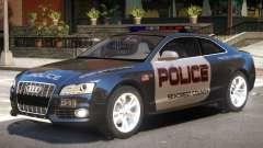 Audi S5 Police V1 para GTA 4
