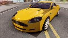 Aston Martin DB9 Full Tunable HQ Interior para GTA San Andreas