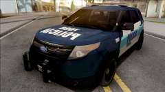 Ford Explorer Policia Federal Argentina para GTA San Andreas