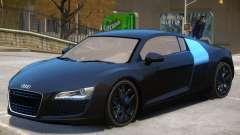 Audi R8 FSI para GTA 4