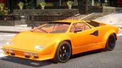 1988 Lamborghini Countach para GTA 4
