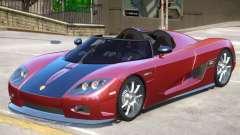 Koenigsegg CCX Roadster V1 para GTA 4
