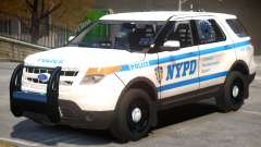Ford Explorer V1 Police para GTA 4