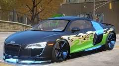 Audi R8 FSI Upd PJ para GTA 4