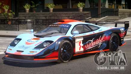 McLaren F1 V1.1 PJ3 para GTA 4