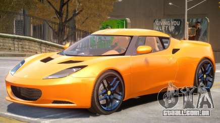 Lotus Evora V1 para GTA 4