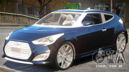 Hyundai Veloster V1.2 para GTA 4