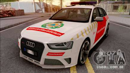 Audi RS4 Avant Hungarian Fire Department para GTA San Andreas