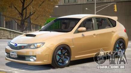 Subaru Impreza WRX STI Hatchback para GTA 4