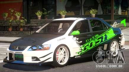 Lancer Evo IX Tuning para GTA 4