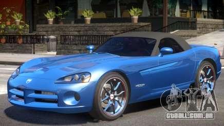 Dodge Viper SRT Y03 para GTA 4
