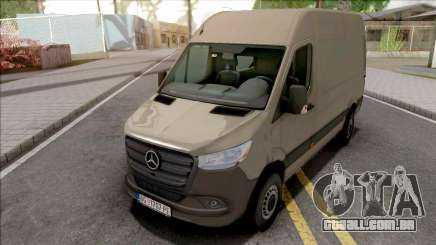 Mercedes-Benz Sprinter 2019 para GTA San Andreas