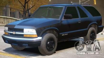 Chevrolet Blazer V1 R3 para GTA 4