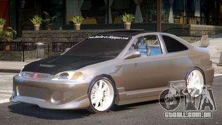 Honda Civic Type-R Upd para GTA 4