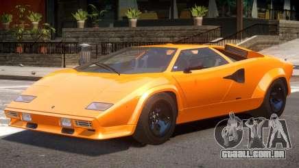 1985 Lambo Countach para GTA 4