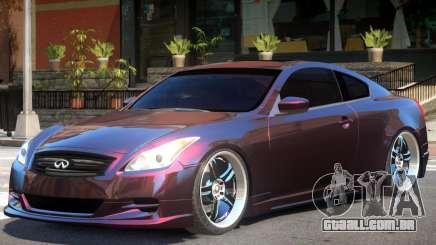 Infiniti G37 Sport para GTA 4
