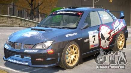 Subaru Impreza WRX V1 PJ2 para GTA 4
