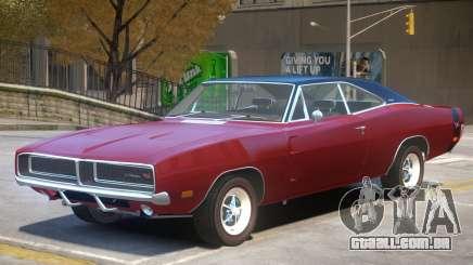 1971 Dodge Charger Stock para GTA 4