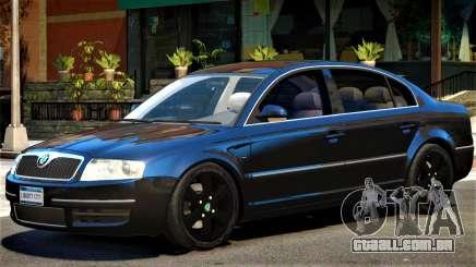 Skoda SuperB V1 para GTA 4