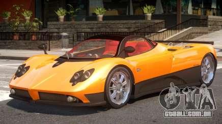 Pagani Zonda F V1 para GTA 4
