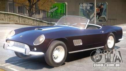 1957 Ferrari 250 California para GTA 4