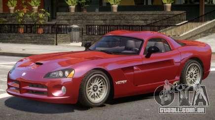 Dodge Viper SRT10 V2 para GTA 4