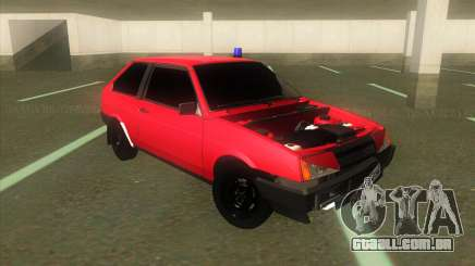 VAZ 2108 Hobo Vermelho para GTA San Andreas