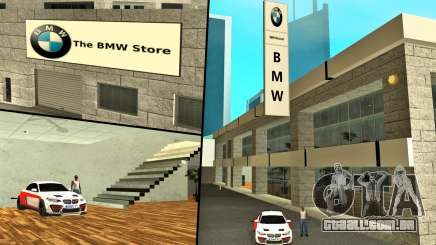 2019 BMW Showroom (BMW Loja) para GTA San Andreas