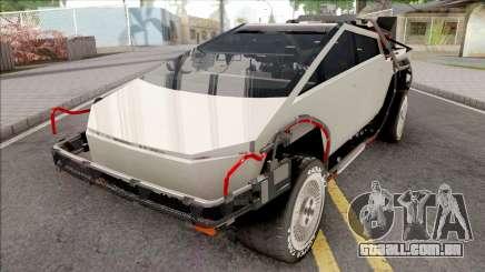 Tesla Cybertruck 2019 BTTF Version para GTA San Andreas